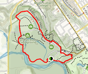 Flandrau Campgrounds Loop Map