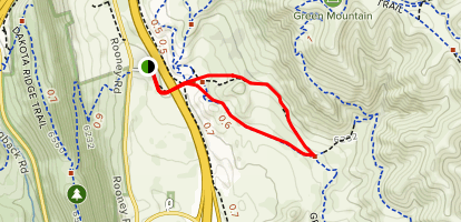 Green Mountain Trail Loop Map