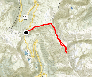 Cupid Peak Map