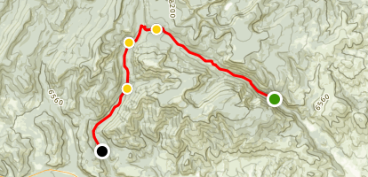 Lost Creek to Foster Creek Map