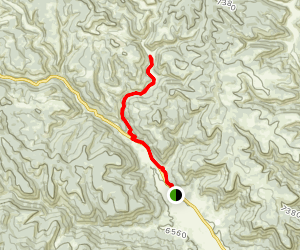 Hellfire Canyon Camp Trail [PRIVATE PROPERTY] Map