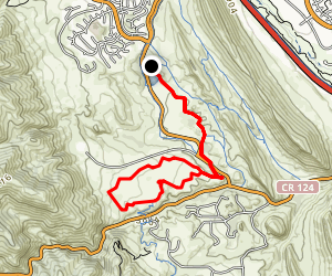 Swallow Trail and Grazing Elk Loop Map