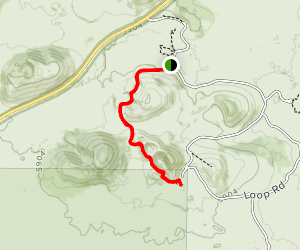 North Crater Trail Map