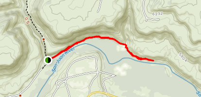 San Juan River Trail Map