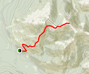 Whistler Mountain Route Map