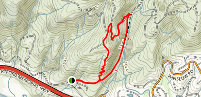 Berry Creek Loop Map