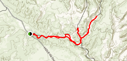 Bighorn Canyon Trail Map