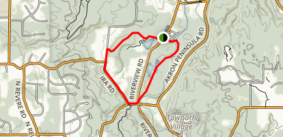 Hale Farm Connector to Ohio & Erie Canal Towpath Trail  Map