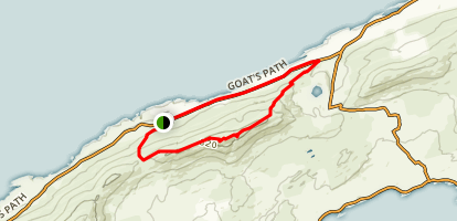The Sheep's Head Way: Foilakilly Loop Map