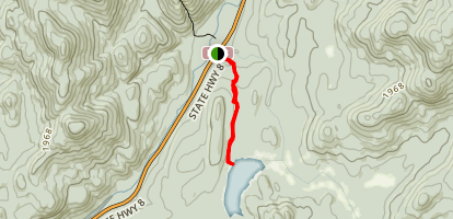 Cod Pond Trail  Map