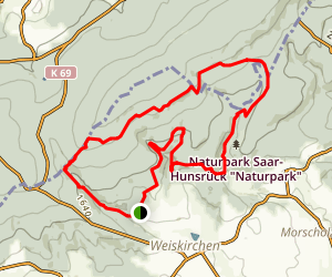Wildnis Trail Map