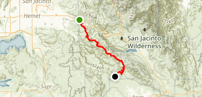Rouse Ridge Off-Road Trail Map