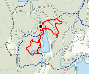 Callaway Brothers Azalea Bowl and Chapel Trail Map