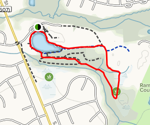 Pond and Nature Loop Map