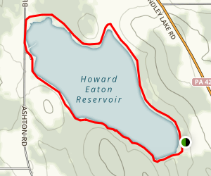 Howard Eaton Reservoir Loop Map