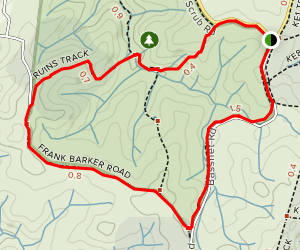 Horseplay Trail Map