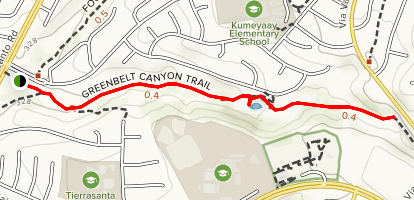 Shepherd Canyon Map
