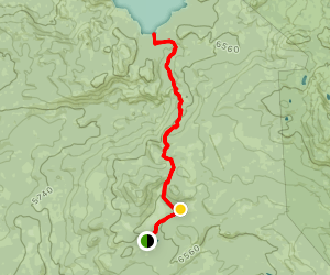 Loon Lake Trail from FS Road 36 Map
