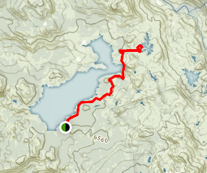 Loon Lake to Spider Lake Map