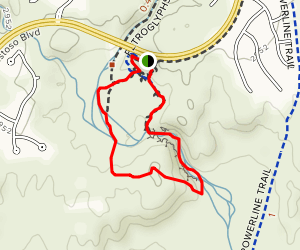 HoneyBee Canyon South Trail Map