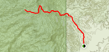 Manning Camp Trail Map