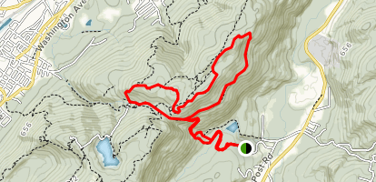 Wilkonson Memorial Trail to Fishkill Ridge Loop Map
