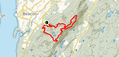 Fishkill, Lambs Hill, Scofield Ridge Loop Map