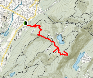 South Beacon and Scofield Overlook Map