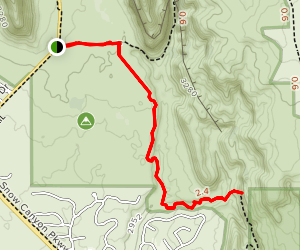 Scout Cave Trail Map