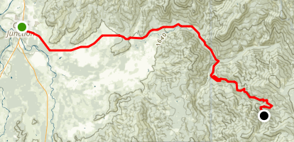Caves Highway Map