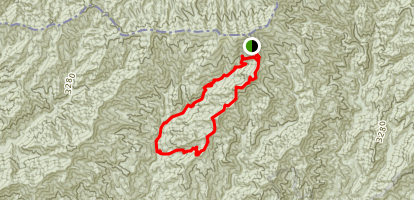 Forney Ridge and Forney Creek Loop Map