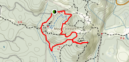 Mount Stewart and Scafe Hill Map