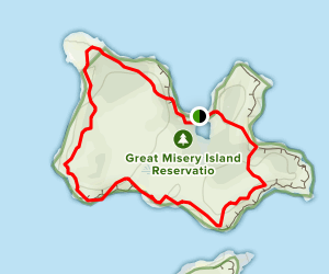 Misery Island Reservation Loop Map