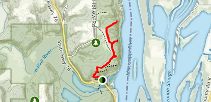 Little Bear Mound Group, Great Bear Mound Group, Twin View and Third Scenic View Map