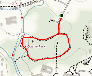 Museum of Life and Science Trail Loop Map