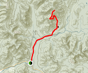 Mount Bond via Lincoln Woods Trail Map