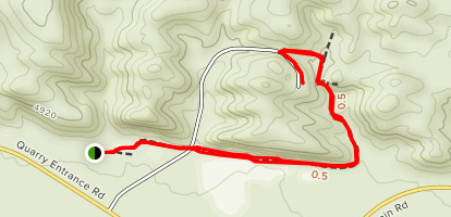 Fossil Discovery Trail Map