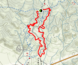 Fistful of Dollars and Django Trails Loop Map