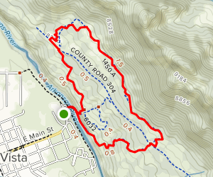Barbara Whipple Trail Loop Map