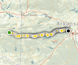 Ouachita National RecreationTrail Map