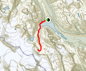 Bow Hut Route Map