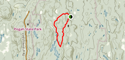 Chestnut Hill, Reservoir, and North Ponds Trail Loop Map