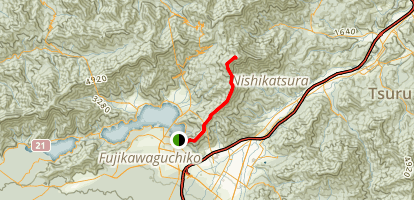 Mount Mitsutoge Map