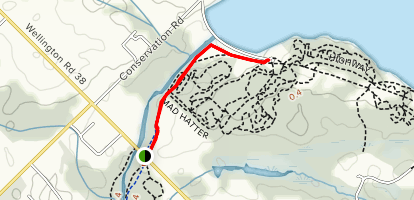 Guelph Lake Trail Map