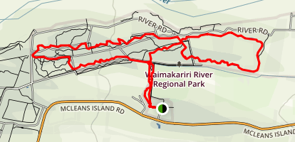 McLeans Forest Mountain Bike Trail Map
