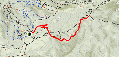 Peak View Trail Map