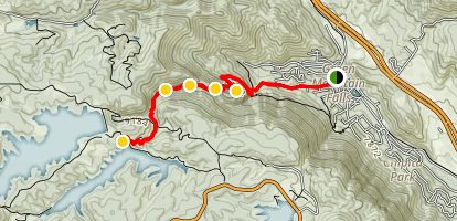 Catamount Falls Trail Map