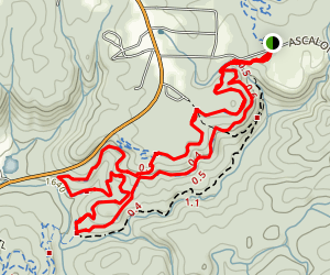 Barkeater Trail Loop Map