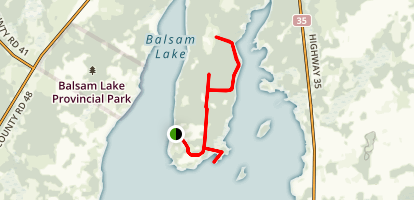 Indian Point Trail  Map