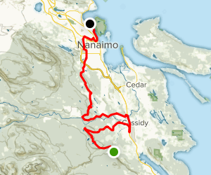 Trans Canada Trail: Nanaimo Map